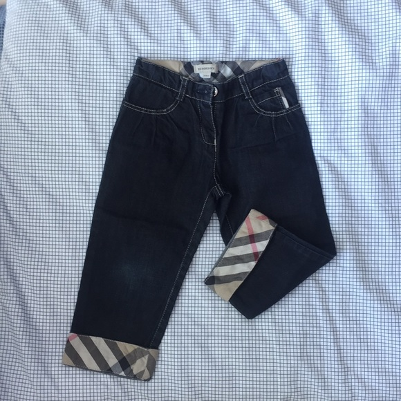 5304c0260785 Burberry Other - Jean Burberry 3T pants lapel nova check